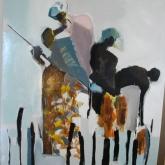 Algea-Pickers-at-Zanzibar-Lackfärg-på-duk.-ca-1.60-x-1.20-m-2007