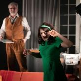 Vem är rädd för Virginia Woolf – Örebro länsteater 2020 - Regi: Rikard Lekander, Scenografi/kostym: Richard Andersson. Foto: Mats Bäcker.
