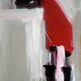 Oh no! – Olja på duk, ca 80 x 40 cm. 2009