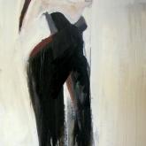 Byxdress? – Olja på duk, 70x116 cm. 2010