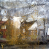 Edits hus – målning från Gillshög Blandteknik, 60x40 cm. 2010 (privat ägo)