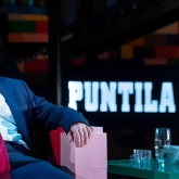 Herr Puntila och hans dräng Matti - Göteborgs stadsteater 2019 – Regi: Pontus Stenshäll - Scenografi/ kostymdesigner: Richard Andersson